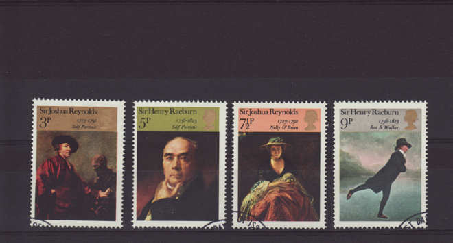 British Painters Stamps 1973