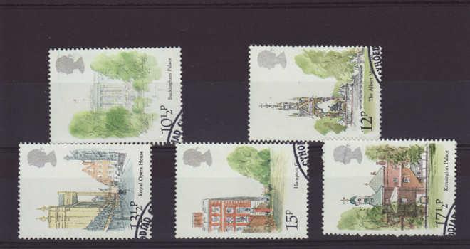London Landmarks Stamps 1980