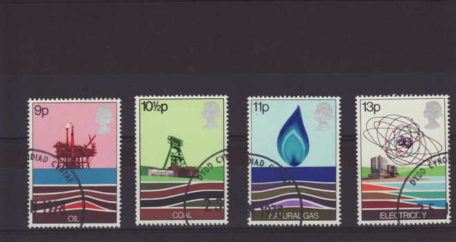 Energy Resources Stamps 1978
