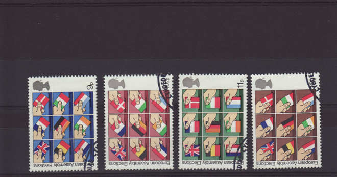 first direct elections Stamps 1979
