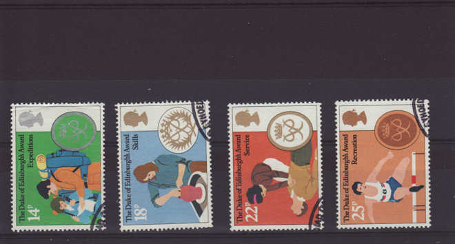 Duke of Edinburgh Award Stamps 1981
