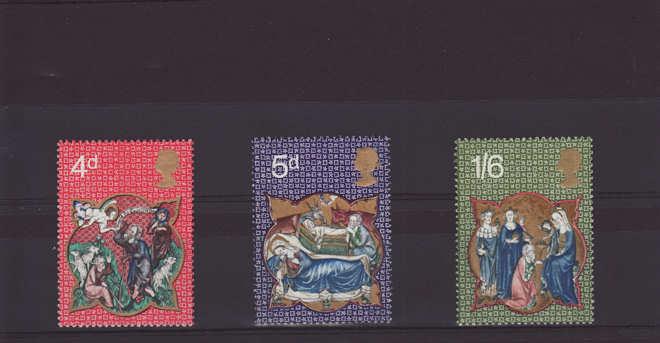 Christmas Stamps 1970