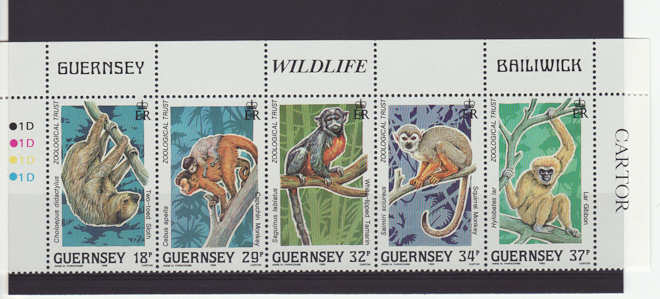topical stamps - Zoo Animals