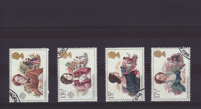 Famous authoresses Stamps 1980