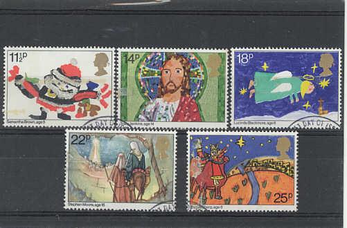 Christmas Stamps 1981