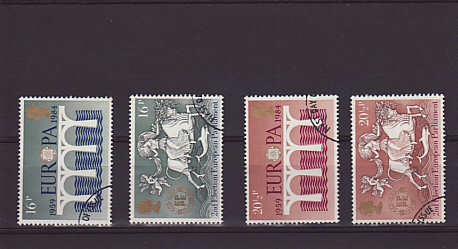 CEPT Europa Stamps 1984