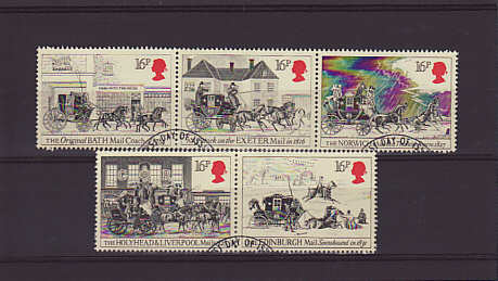 Mail Coach Stamps 1984