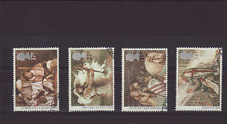Arthurian Legends Stamps 1985