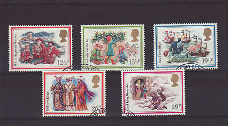 Christmas Carols Stamps 1982