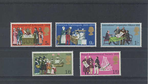 General Anniversaries Stamps