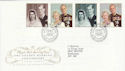 1997-11-13 Golden Wedding Stamps Bureau FDC (55760)