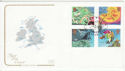 2001-03-13 Weather Stamps London FDC (66729)